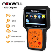 Foxwell NT614 OBDII OBD2 Car Diagnostic Tool for Engine ABS SRS Airbag EPB Transmission OBD 2 Automotive Scanner Update Free(China)