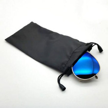 Pouches for Sunglasses Mp3 Soft Cloth Dust Pouch Optical Glasses Carry Bag 10PCS(China)