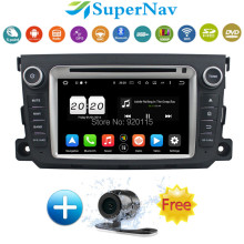 8 Core Android 6.0.1 Car DVD Player fit For Mercedes Benz Smart 2011 2012 with 4G Wifi 2G RAM BT DAB+ Radio DVD GPS Navigation