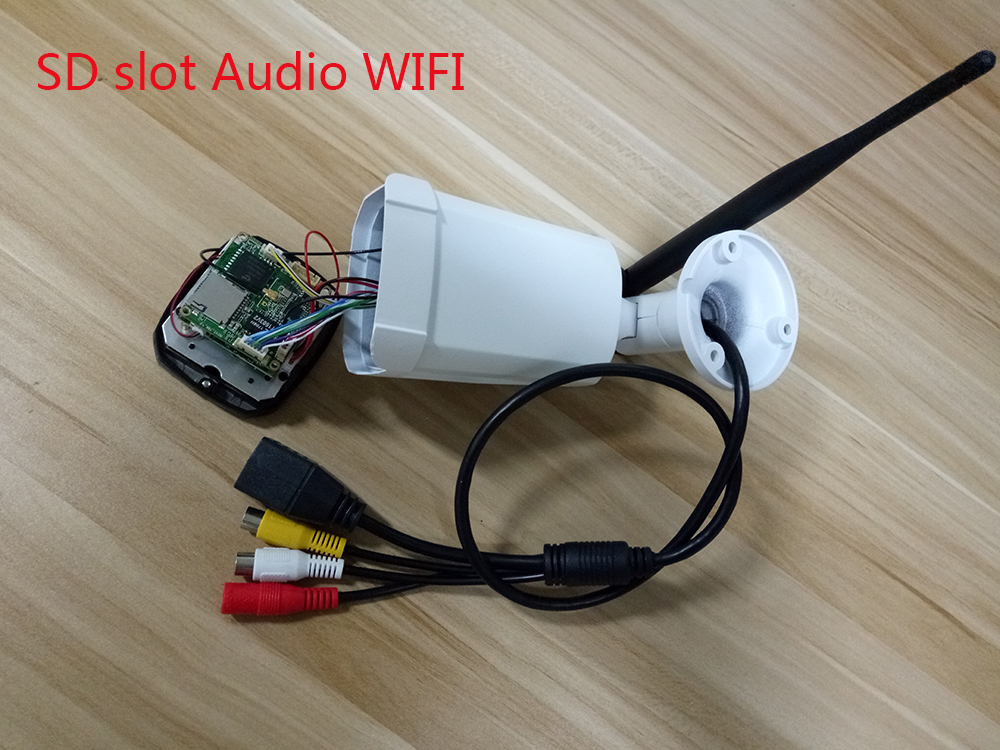 SD slot Audio WIFI