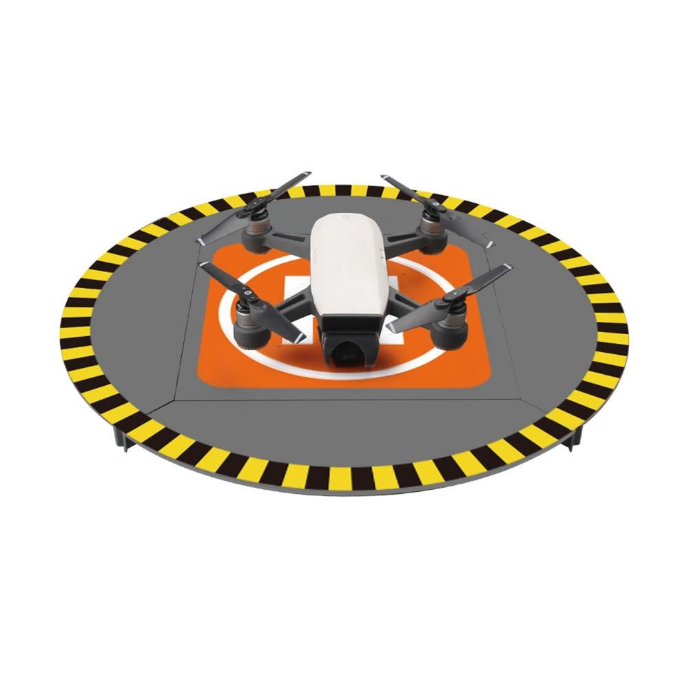 For DJI Spark Drone Landing Pad 15′ Electric LED Helipad for DJI Phantom 4 3 Mavic Pro Drone RC Quadcopter 38cm Parking Aporn