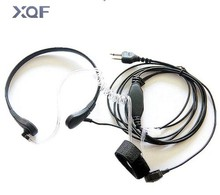 Throat Mic Earpiece/Headset For Icom Radio IC-04AT/IC-2GAT/IC-2100/IC-2200/IC-H2