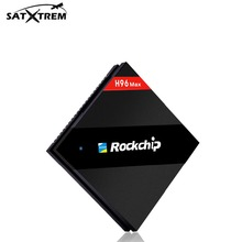 H96 Max Android 6.0 TV Box Rockchip RK3399 Six Core 4GB/32GB BT4.0 2.4G/5.8G Dual WiFi media player set top box For 1 year IPTV