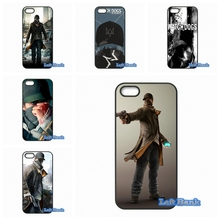 For Apple iPhone 4 4S 5 5S 5C SE 6 6S 7 Plus 4.7 5.5 iPod Touch 4 5 6 Enjoy Watch Dogs Game Cheap Case Cover