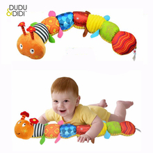 Recommend Cloth multifunctional educational children toys Baby rattles of music hand puppets animals for kids WJ167(China)