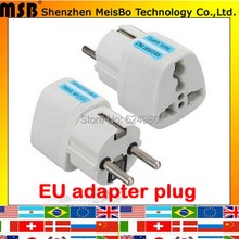 White International Travel Universal Franch Adapter Electrical Plug For UK/US/EU/AU to EU European Socket Converter(China)