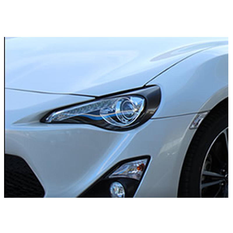 gt 86 carbon fiber eyebrow  headlight lips brows Fit For Toyota gt86 2012-201603
