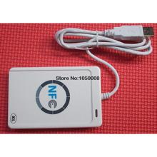 Buy USB ACR122U NFC RFID Smart Card Reader Writer 4 types NFC (ISO/IEC18092) Tags + 5pcs M1 Cards +1 SDK CD for $25.96 in AliExpress store