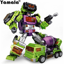 [Yamala] IN-STOCK Transformation Robot Ko Version Gt Mixmaster Of Devastator left Thigh Action Figure Toys Gifts without box(China)