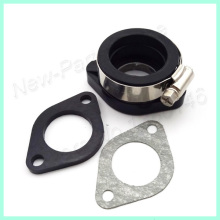 Pit Dirt Bike Carb Intake Adapter Boot Rubber Pipe Flange Gasket For Mikuni VM24 Keihin PE24 26 28 OKO Motorcycle Motocross