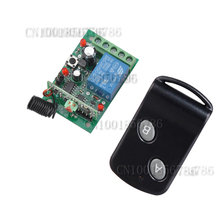 DC24V 1CH RF wireless remote control switch system Learning Code Momentary Toggle Latched Adjust 315/433MHZ(China)