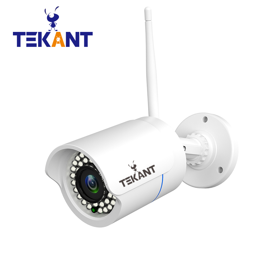 Tekant Full 1080P Waterproof Wifi IP Camera 2.0MP Outdoor Wireless camera P2P Bullet security camera ONVIF Up to 128GB SD card <br>