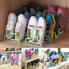2 PCS Multi-function Plastic Children Kids Shoes Hanging Storage Drying Rack Shoe Rack Stand Organizer