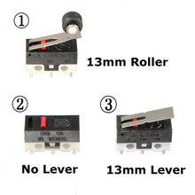 5PCS Limit Switch, 3 Pin N/O N/C 125VAC 1A Micro Switch Factory direct sale Promotion(China)