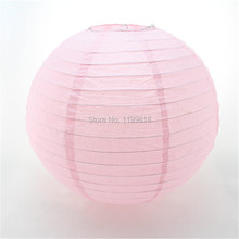 Free Shipping 120pcs 12Inches Round Red Chinese Wholesale Paper Lantern for Wedding Party(China)