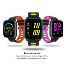 GV68 Smart Watch Waterproof Ip68 Heart Rate Monitor Bluetooth Smartwatch Swimming Replaceable Straps IOS Android Phone - Toptec Store store