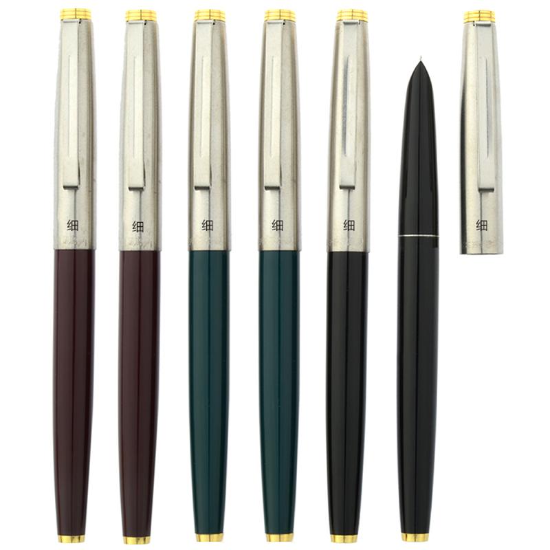 Hot Green Hero 329 Stainless Cap Fountain Pens Nice Gift