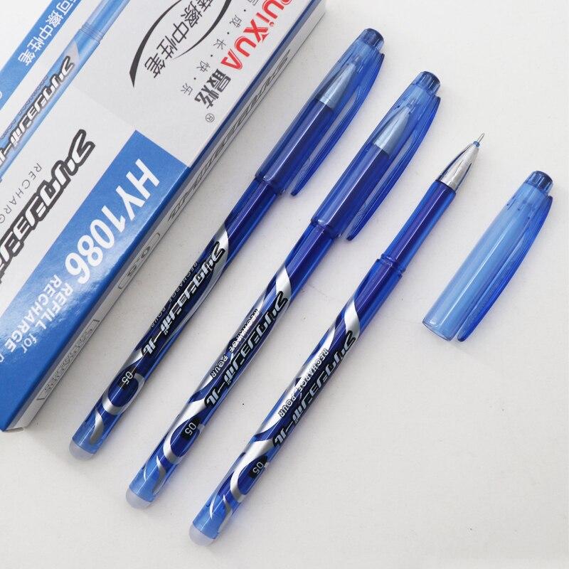 12Pc Gel Pens 0.5mm Blue//Black Ink Gel Pen School Office Student Writing Pen