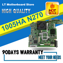 1005HA For Asus Eee PC 945-chipset Laptop Motherboard N270U motherboard 1005HA 1GB 100% tested(China)