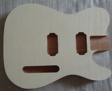 New finished electric guitar body 1 piece guitar DIY body