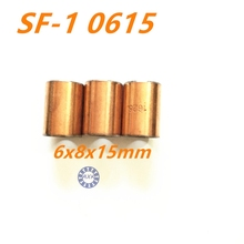 Buy Free shipping High Quality 20Pcs SF1 SF-1 0615 6*8*15 20pcs 0615 Self Lubricating Composite Bearing Bushing Sleeve 6x8x15mm