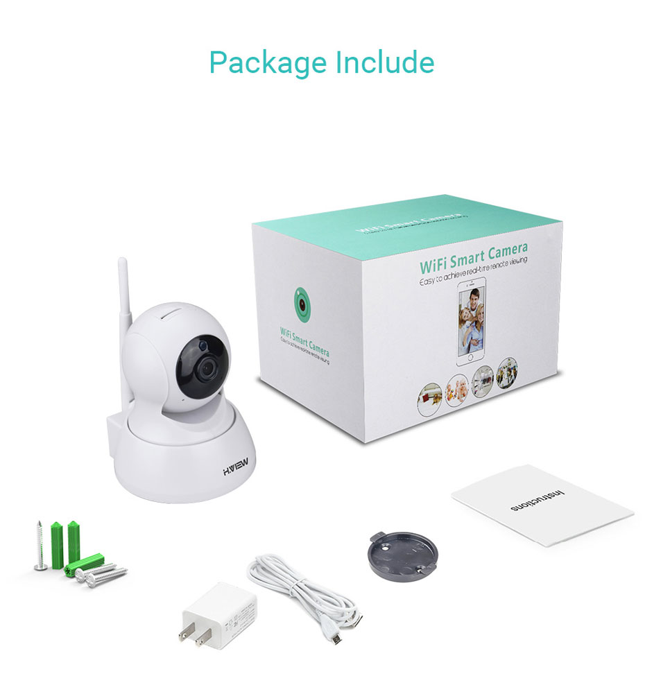 H.VIEW 720P IP Camera 1200tvl Surveillance Camera PTZ CCTV Cameras Camara iOS Android Remote View IP Wifi Cameras (18)