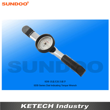 Sundoo SDB-100 20-100N.m Handheld Dial Indicating Torque Wrench Meter Torsion Tester