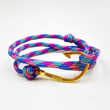 Buy 2016 High Miansai Bracelets Women Men Anchor Bracelet Summer Fashion marine bracelet Gold Hook Bracelet Men for $1.01 in AliExpress store