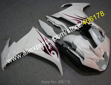 Hot Sales,custom ABS fairing kit for YAMAHA FZ6R FZ 6R FZ-6R 2009 2010 2011 2012 2013 fairings body white motorcycle parts