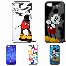 Fashion Colorful Cute mickey mouse Hard Phone Case For Moto E E2 E3 G G2 G3 G4 G5 PLUS X2 Play Nokia 550 630 640 650 830 950(China)