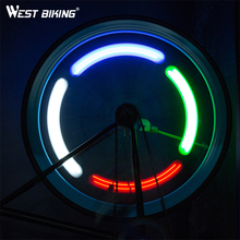 Buy WEST BIKING Cycling Wheel Spoke Light Bicycle Tire Bike Wheel Spoke LED Light Cycle Bicycle Flash Light Bike Night Warning Lamp for $5.35 in AliExpress store