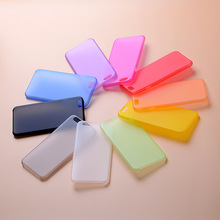 0.3mm Ultra Thin Matte Mobile Phone Fundas Coque Case for iPhone X 4 4S 5 5S SE 6 6S 7 8 Plus Cases Slim Matte Transparent Cover