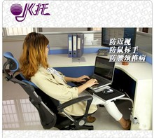 OK-110 Full Motion Desk Edge /Table Side /Chair Leg Clamping Mouse Pad /Keyboard Tray Holder Laptop Desk Notebook Stand(China)