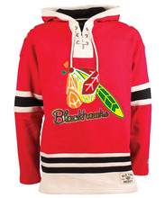 New Designs Black Hawks Logo Hockeys Style Stitching Sweatshirt, Customize Blackhawks Team Player Name & Number Hoodies Pullover