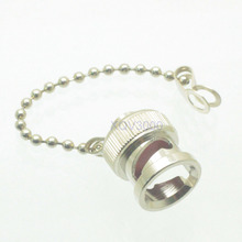 10pcs Connector dust cap with chain for BNC female jack