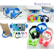 Mouplayca100pcs/lot Stylish Thumb OK Stand Holder Mobile Phone Desk Stand Holder Mount Hold Supporter For Phone Ipad Stand