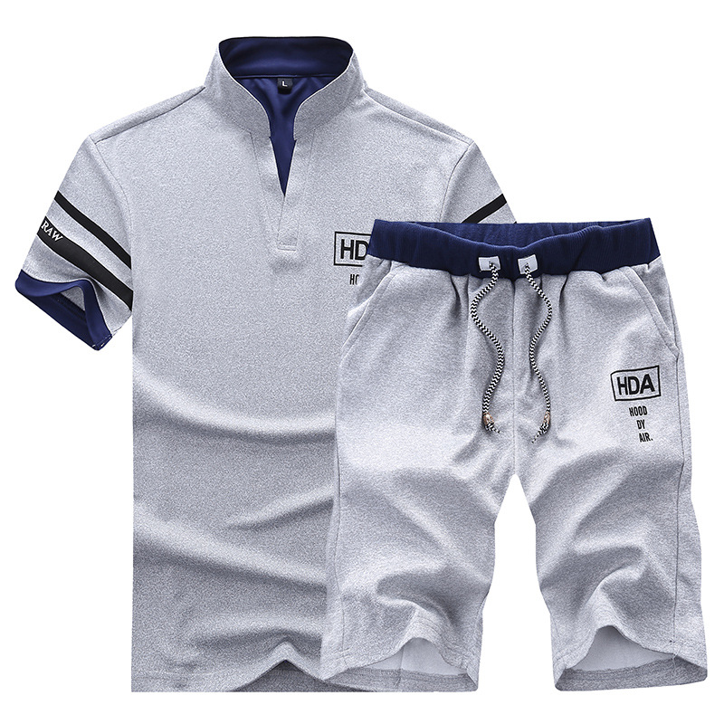 Polo-Suits-Men-Summer-2PC-Breathable-2018-Sportsuits-Short-Set-Two-Pieces-Fashion-Track-Suit-Men