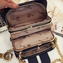 The new han edition fashion women bag mobile packet chain Crossbody bag XY322(China)