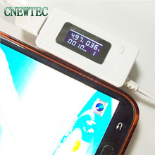 Real tracking number LCD module USB Mini Voltage and Current Detector Mobile Power USB Charger Tester Meter(China)