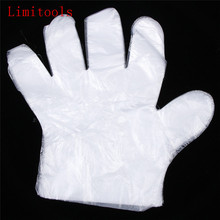 50pcs/Set Eco-friendly Disposable Gloves One-off Plastic Gloves For Cake Food/Cleaning/Cooking/Baking Tools kitchen accessories(China)