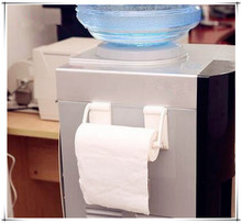 New Arrival Magnetic paper towel oleopholic roll holder Towel Rack for Refrigerator Bathroom Accessories