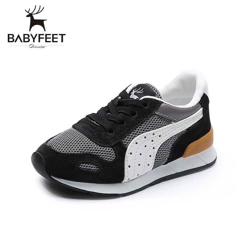 Brand babyfeet 1Y-7Y Childrens shoes girls sports shoes baby Toddler shoes fashion sneakers boy infant casual breathable shoes<br>