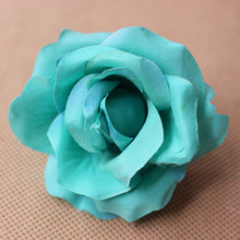 6.5CM artificial rose heads,Cloth satin ribbon roses flowers for diy flower arrangements,corsage,wedding accessories,rose balls