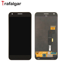 "Original New For HTC Nexus M1 Google Pixel XL LCD Display Touch Screen Digitizer Assembly Replacement 5.5"" Google Pixel XL LCD(China)"