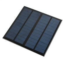 12V 3W Solar Panel Module Universal for Light Battery Cell Phones Charger Portable DIY Incredibly Efficient Output 145x145x2.5mm