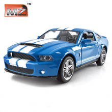 Brand New 1:32 alloy toy car models Diecast Alloy Metal Ford Mustang GT Coupe For kids baby toys car gifts Free Shipping(China)