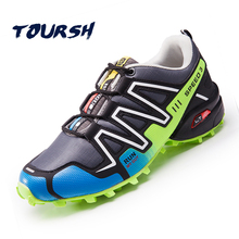TOURSH 2017 Mens Sports Running Shoes Athletic Speed 3 High Quality Cross Country Outdoor Shoes Sneakers scarpe uomo sportive