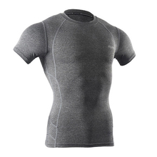 Buy Quick Dry Men Cycling Base Layer Sports Compression Underwear Short Sleeve Ropa Bicicleta MTB High Elastic Base Layer Clothing for $12.67 in AliExpress store