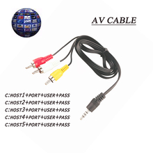 10 lines TV Cable cline 1 year For Satellite TV Receiver HD DVB-S2 Decoder Europe clines Server via usb wifi(China)