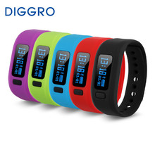 Diggro Moving Up 2 Smart Bracelet Healthy Sport Bluetooth 4.0 Smart Wristband Pedometer Sleep Fitness Tracking For Android OS(China)